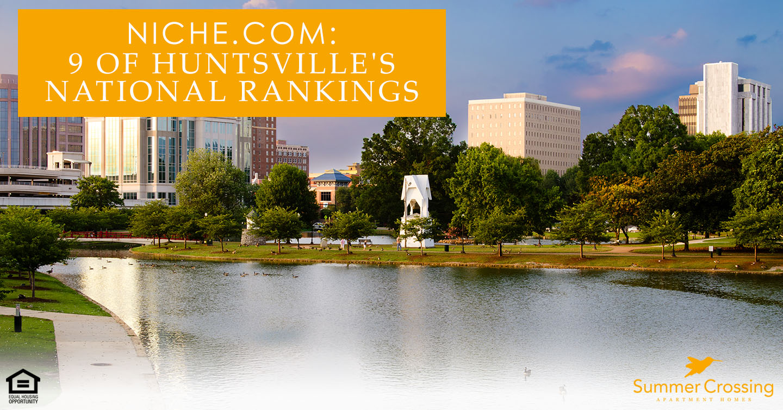 Huntsville's National Rankings