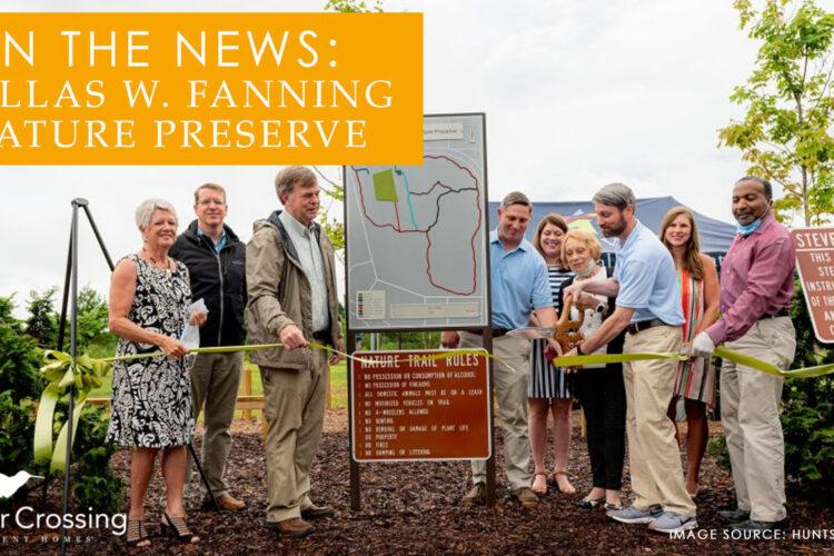 In the News: Dallas W. Fanning Nature Preserve