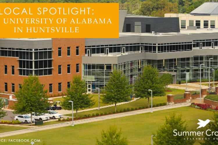 Local Spotlight: The University of Alabama in Huntsville