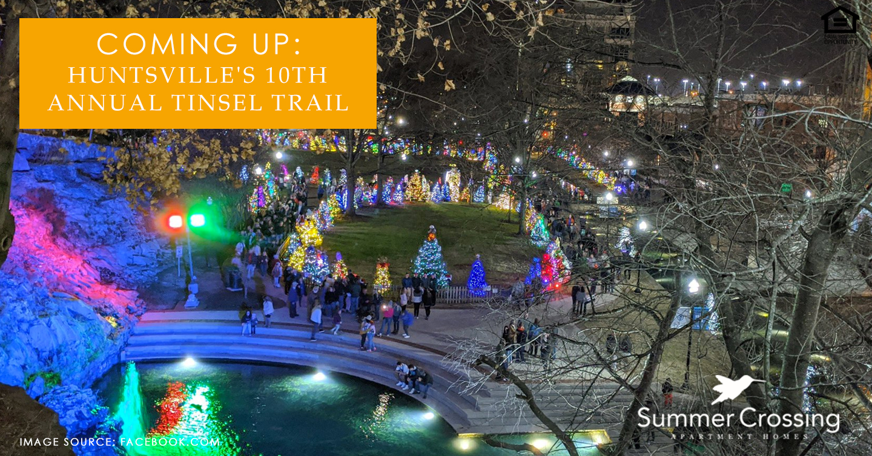 Huntsville's 10th Annual Tinsel Trail