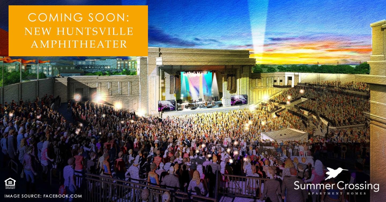new Huntsville Amphitheater