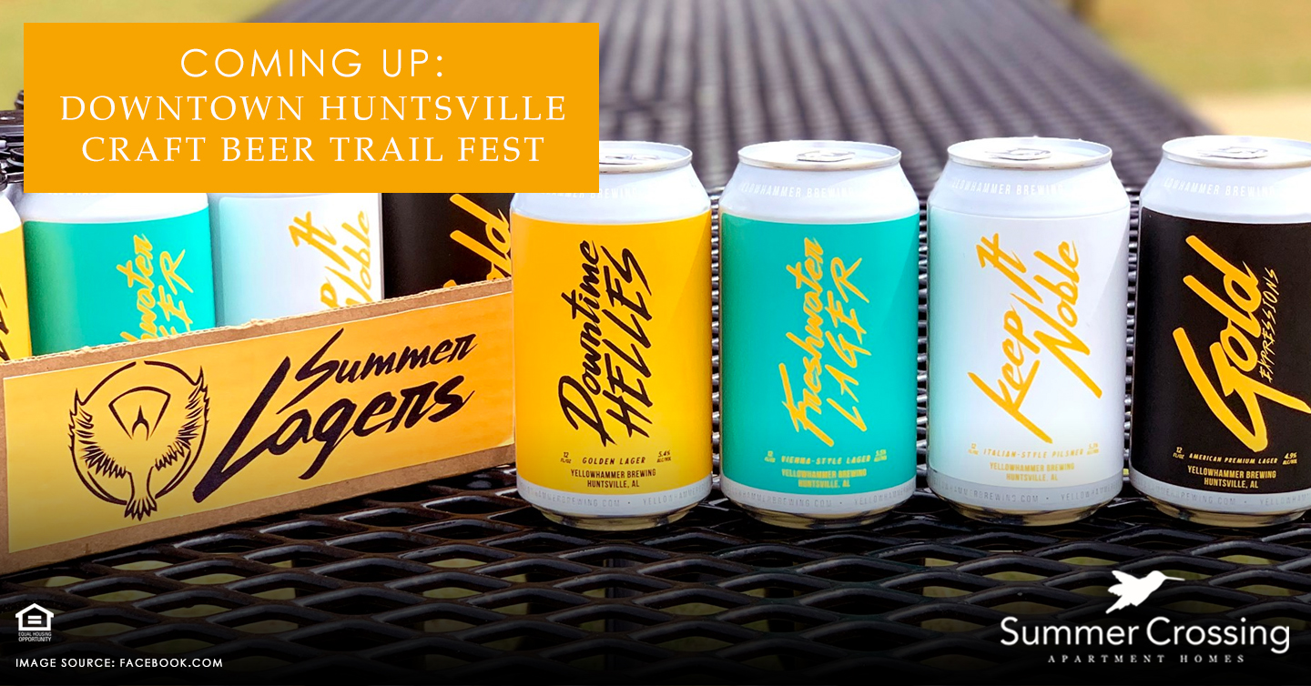 Coming Up: Downtown Huntsville Craft Beer Trail Fest